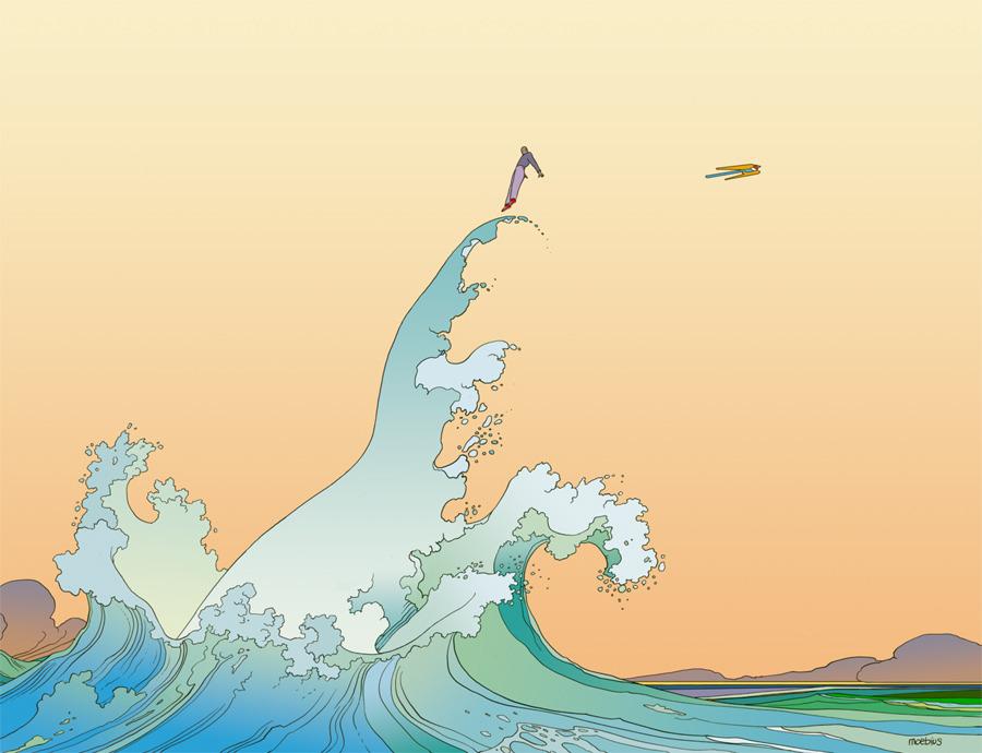 Moebius jean giraud tumblr for Artiste dessin