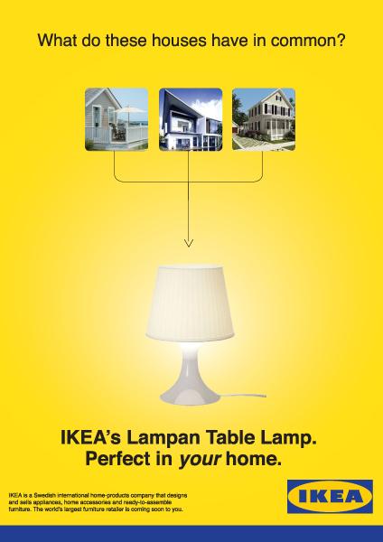 IKEA Advertisment - Rebecca Sue