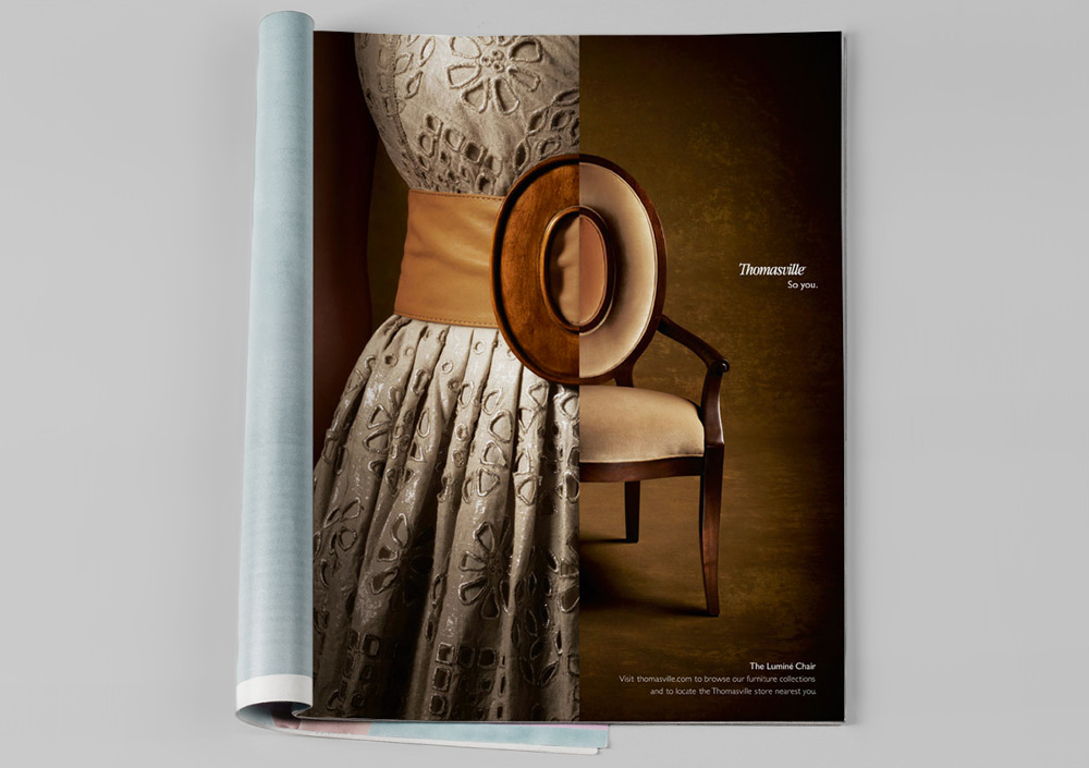 We Also Produced A 30 Second TV Spot Based On The Furniture As Fashion Idea: